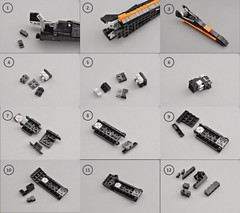 T-70 X wing Instructions (1) (Inthert) Tags: lego moc star wars t70 ship instructions resistance x wing bb8 poe force awakens