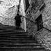 Going to the church, Pietramontecorvino, Puglia, Italy