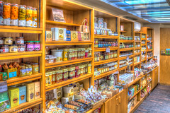 The Housekeepers Store (Kevin From Manchester) Tags: old england food shopping store cheshire bottles national trust hdr 2015 tattonhall kevinwalker