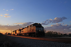 Golden Hour & Blue Hour Together (Hair_Farmer_184) Tags: ns trains cp goldenhour railroads norfolksouthern