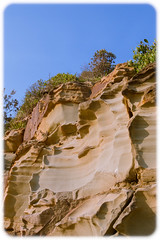 Weathered Sanstone Cliff at Bateau Bay (Craig Jewell Photography) Tags: cliff rock iso100 sandstone australia nsw worn weathered f80 2014 33mm honeycombweathering bateaubay ef1635mmf28liiusm ¹⁄₆₄₀sec ‒1²⁄₃ev canoneos1dmarkiv 33°235s151°2859e filename20140105171644x0k0279cr2