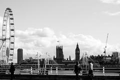 Waterloo Bridge, London. (jessyiting) Tags: london londoneye bigben houseofparliament waterloobridge