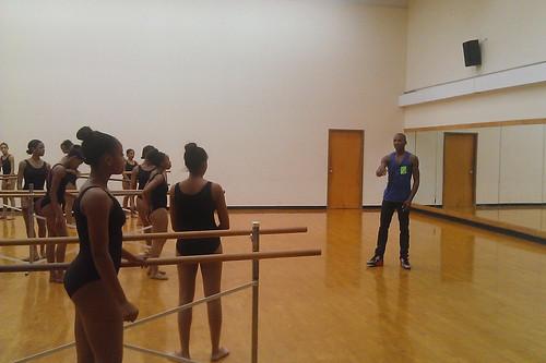 Royal Ballet USA: Eric Underwood visits former dance school in Washington