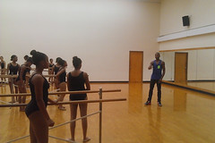 Royal Ballet USA: Eric Underwood visits former dance school in Washington