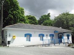 Municipal Albergue in Ferreiros (Dartmoor Mike) Tags: municipal albergue xunta ferreiros camino de santiago