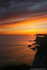 Sunrise Heaven (Nightskyhunter On Flickr) Tags: uk sunset clouds sunrise landscape atlanticocean portrush nireland antrimcoast oceanscape martinmckenna nightskyhunter