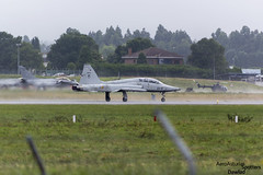 Despegue F-5 en LEAS (Dawlad Ast) Tags: aeropuerto internacional asturias international airport ranon leas ovd espaa spain julio july 2016 avion plane airplane santiago del monte casanorthrop sf5b m freedom fighter ae922 2312 ejercito aire de casa northrop f5 despegue take off spanish air army militar
