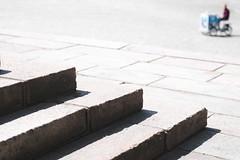 Ice-cream man (Jani M) Tags: icecream man street urban shape shadow step