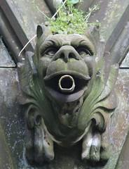 St Cuthbert's Kirkyard (richardr) Tags: stcuthbertskirkyard kirkyard necropolis graveyard churchyard gargoyle