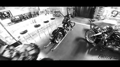 The Bad Guy (factory47cycles) Tags: factory 7 cycle cycles vicla softail harley davidson video biker mc black shop go pro riding