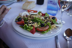 Ensalada (Jusotil_1943) Tags: copa cuchara food