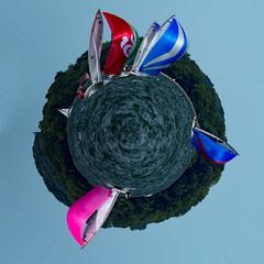 e-Scow Sailing Spherical Panoramic (m2 Photo) Tags: escow panoramic spherical sailing
