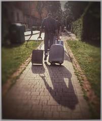 Arrivo a Cracovia (santacrocegmg) Tags: comunicazione viaggio aereo cracovia wyd gmg valigie gmg2016