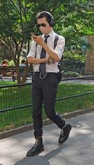 ozu3 (PeepHole of New York) Tags: headphones sunglasses asianboy