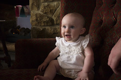 Robyn chilling by the fire (Tim Brazier) Tags: christening robyn