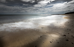 Distance (Colin-47) Tags: flat smooth beach sea norfolk coastline coastal colin47 canon eos6d ef1635f4 light distance
