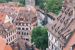 Blick von der Nürnberger Kaiserburg
