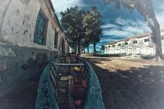 Boats... (hobbit68) Tags: sky andalucia clouds sonnenschein tr wasser alt sommer wolken spanien himmel haus urlaub espana outdoor canon sunset ruine boats fenster old verfallen boote gebude sonne