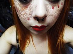 (Beatriz Ribeiro (BiahJujuba)) Tags: portrait colors bowie redhead glitters