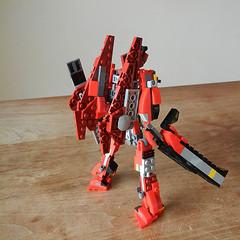 DSCN6917 (alfa145q_lego) Tags: lego legocreator redcreatures 31032 mecha vehicletransporter 31033 rebuild alternate