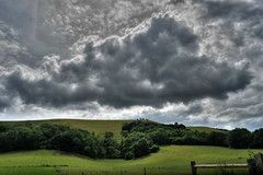 Treyford Hill (Dom Walton) Tags: treyford hill south downs countryside cloud sky hdr domwalton landscape