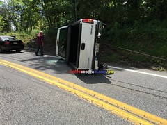 Truck Roll Over (dfirecop) Tags: dfirecop harrisburg pa pennsylvania accident crash wreck chevy c1500 rollover