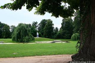 Europa, Deutschland, Brandenburg, Landkreis Märkisch-Oderland, Neuhardenberg, Schloss Neuhardenberg, Park