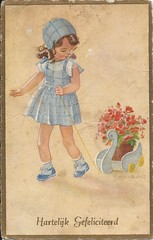 Hannie Holt 10 (neintje) Tags: hannieholt girl swan zwaan