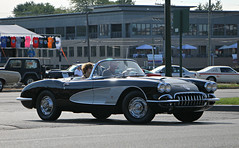 1959-1960 Chevrolet Corvette (SPV Automotive) Tags: 1959 1960 chevrolet corvette c1 roadster convertible classic sports car black