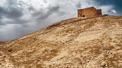At the top of Ait Benhaddou (Zouhair Lhaloui) Tags: morocco maroc travel discover desert clouds cloudy dramatic landscape africa northafrica eartlybuilding buildings dirt hills aitbenhaddou ouarzazate sky printsale zouhairlhaloui zlphotography 2015 nikond810 outdoor texture