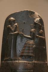 Code of Hammurabi, King of Babylon (Rick & Bart) Tags: paris france city urban museum louvre art history sculpture statue rickvink rickbart canon eos70d babylon law code hammurabi