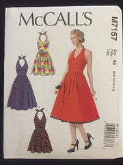 McCall's 7157 (bapower) Tags: halter dress