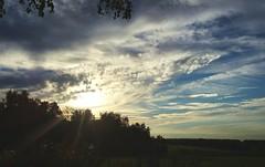 "Sundog &""flying saucer"" Sun ... Afternoon Sky Rays Beams Sun Dog Mock Sun Field Fieldscape Russia    at  (Almena14) Tags: sundog sun afternoon sky rays beams mocksun field fieldscape russia"