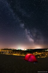 One Night - Dune du pyla - Arcachon (jubu photographie) Tags: night nuit etoiles stars milkyway voielacte canon color canon5d 5dmk2 163528