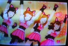 Yo-Kai Watch (hernnpatriciovegaberardi (1)) Tags: disney xd latin america 2016 yokai watch piernas legs rodillas knees tiernas cutes chicas girls felinas gatitas kittys mew