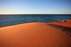The end of the earth (smattox114) Tags: travel colour nature landscape sand desert oz au australia aus westernaustralia sanddunes downunder monkeymia sharkbay