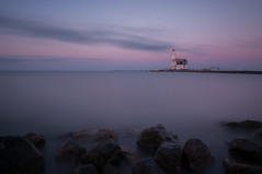 Lichthouse 10-stops (B. Versteeg) Tags: light sea horse lighthouse holland water nikon colours outdoor nederland zee marken paard