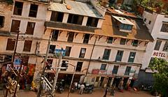 Basantapur Square 15 (David OMalley) Tags: nepal tower square buddha buddhist royal mandala palace ktm valley hanuman kathmandu nepalese hindu durbar himalayas hindi himalayan nepali basantapur dhoka newari newar bhasa