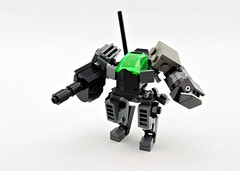 GHF Armiger (Deltassius) Tags: robot war lego space military frame scifi mecha mech mf0