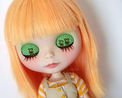 Fanny's eyelids detail :)
