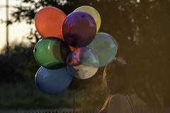 ballon (anna.klingenberg) Tags: sonnenuntergang outdoor ballon feld