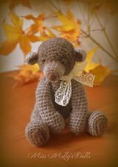 Arapawa Bear (Miss Molly's Dolls & Toys) Tags: bear dolls crochet waldorf inspired miss mollys thead