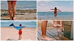 (NoelUroz) Tags: portrait beach boys childhood vintage landscape twins retrato playa retro infancia gemelos