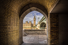 Westminster (Steve J Cottis) Tags: london arch bigben westminsterbridge palaceofwestminster elizabethtower tamron2470 nikond810