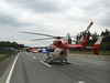 BAB Einsatz Verkehrsunfall Diettersdorf Mai2016 Quelle DRF Luftrettung (4).jpg (DRF Luftrettung) Tags: drfluftrettung ec145 stationbadberka hubschrauber christophthüringen