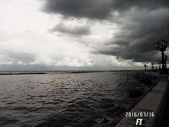 E la chiamano Estate (triziofrancesco) Tags: sea clouds outside nuvole mare lungomare bari nubi