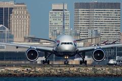 G-VIIH - British Airways - B777-236ER (lijk604) Tags: boston airplane us nikon unitedstates aircraft winthrop massachusetts aviation airline boeing bos britishairways spotting loganinternationalairport baw boeing777 b777 b777200 kbos gviih b777236er nikkor300mmf4d 27490 johnklos nikond7200 nikonafstc17eii