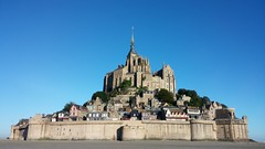 Le Mont Saint Michel, France. () Tags: ocean france beach mobile frank photographer ngc lg g2 lemontsaintmichel