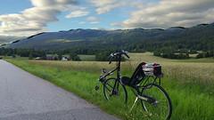 Crappy manual HDR (gunnsteinlye) Tags: bicycle norway recumbent skien qx100 cruzbike
