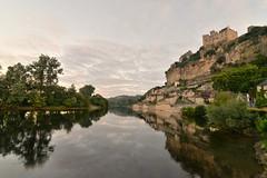 Morning has broken (pentlandpirate) Tags: cliff france castle river dordogne beynac refelection peridord